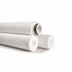 White Spun Filter