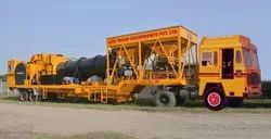 Portable Drum Mix Asphalt Plant cap 40-60 TPH