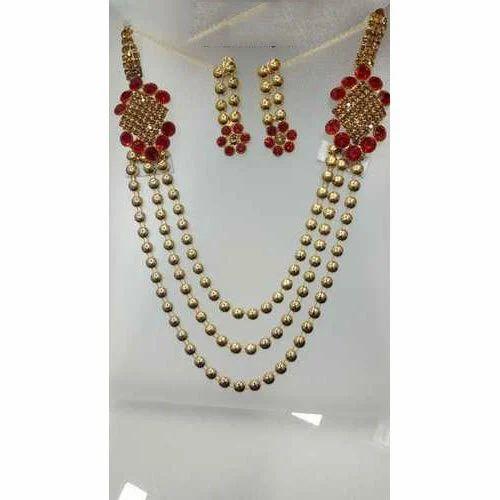 8380f73098dd4f Fancy Designer Necklace Set at Rs 90 /set   फैशन नेकलेस ...