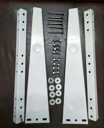 Grey/ White Compressor AC STAND, Capacity: 1.5 Ton / 2 Ton