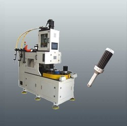 Pneumatic Coiler With Tension Winding For Plastic Material