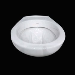 Open Front Ceramic Wall Hung Toilet Seat, For Bathroom Fittings, Size/Dimension: 540 X 375 X 415 Mm
