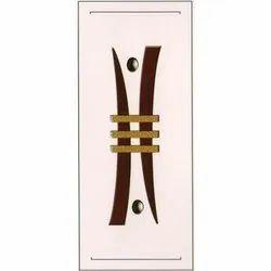 Wooden 6.2 Feet Teak Wood Interior Flush Door