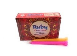 Festive Celebration Ruby Candle