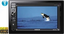 Hamaan Double Din Dvd Stereo Usb Aux Bluetooth Hmd 9920 At Rs 9000