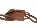 Genuine Leather Small Camera Bag