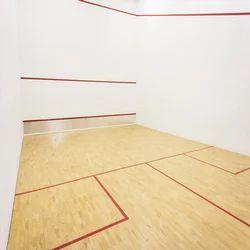 Squash Court Flooring Service