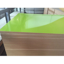 Green Metallic Laminated Board
