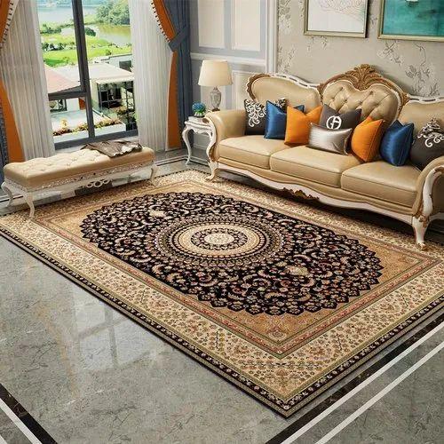 Polyester Printed Living Room Designer, Carpet For Living Room