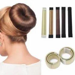 Hair Bun Updo Fold,Wrap & Snap Styling Tool For Girl Hair Style