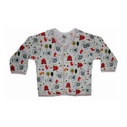 Cotton Full Sleeves Baby Dotted Printed Vest, Age Group : 1-2yr