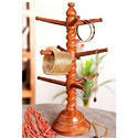 Indian Wooden Bangle Stand