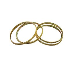 Golden Party Wear Artificial Gold Plated Bangle