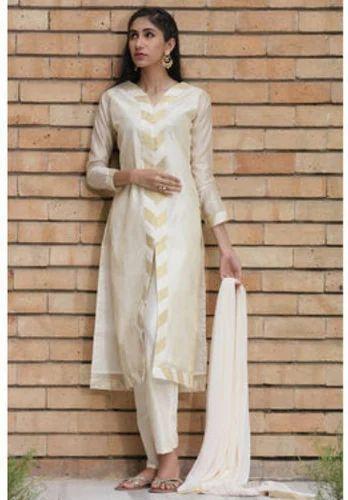 4bba7d6dbf Classic Beiges Manyavar Elegant Cream Straightfit Suit, Rs 2999 ...