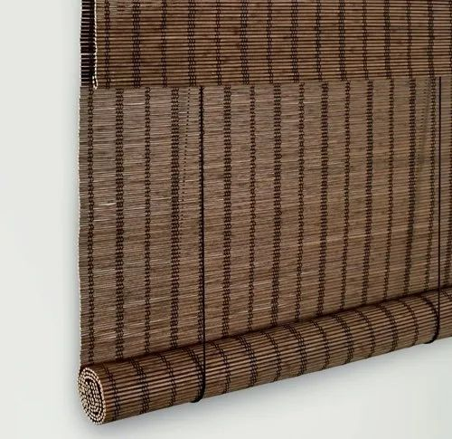 Bamboo Roll Up Window Blind, for Home,Office