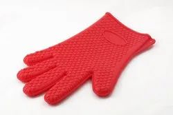 Sevitsil Red Silicon Hand Gloves, For Home