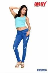 Tone Ankle Jeans