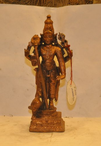 Pure Copper Subrahmanya Swamy Statue