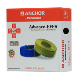 Blue Anchor Advance Extra Flexible Flame Retardant Wire, Thickness: 1.00mm