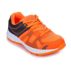 Liberty Force 10 Mens Orange Lacing GRV-01 Sports Shoes
