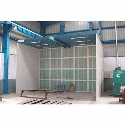 Powder Coating Booth Plant
