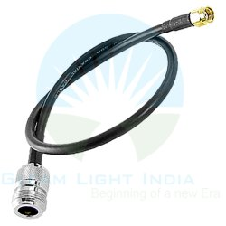 RF Cable Assemblies N Female to RP SMA Male in LMR 195