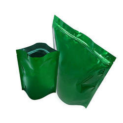 Green Stand up Pouches