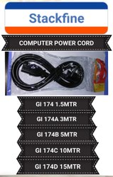 Ariha Laptop Power Cord Heavy