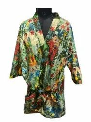 Farida Design Cotton Bathrobe