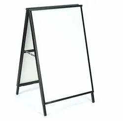 Black Iron & Glass Antique photo frame