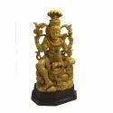 Big Wooden Lord Shiva Statue