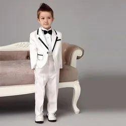 Male Wedding Wear White Kids Suit