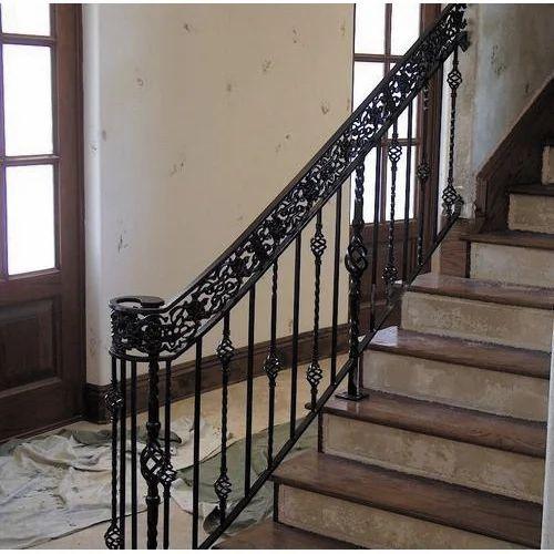 Beau Wrought Iron Stair Railing