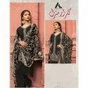 Cotton Unstitched Pakistani Designer Suit, Handwash