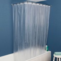 PVC Transparent Shower Curtain
