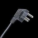 3 Pin Mains Cord 5 Amp Plug