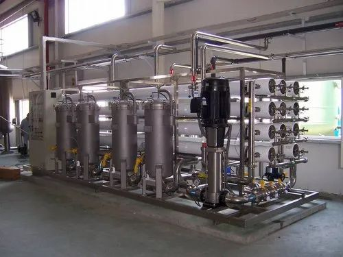 SS Industrial Reverse Osmosis Plant