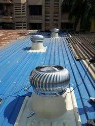 Rotation Head Turbo Ventilator