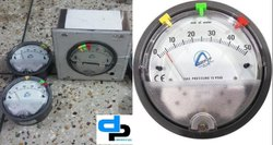 Aerosense Model Asgc -20 Inch Differential Pressure Gauge Ranges: 10-0-10 Inch