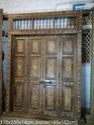 Wooden Bone Fitted Door