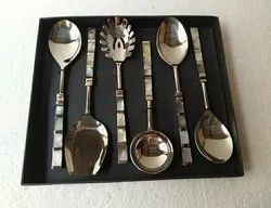 Mother Of Pearl Serving Spoon