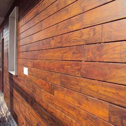 Outdoor Wooden Cladding