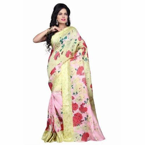 9487ea623 Pure Cotton Printed Saree