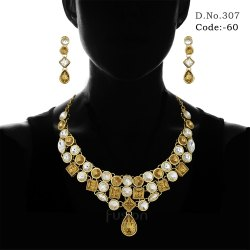 Traditional Designer Wedding Necklace Set
