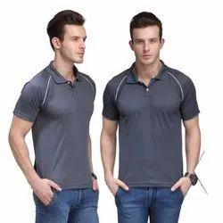 Plain Polo Neck Half Sleeves Polo T-Shirt