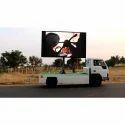 Mobile Van Display Advertisement Service
