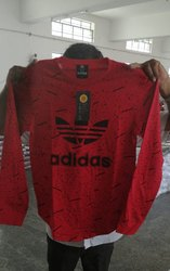 Men Adidas Cotton T-Shirt