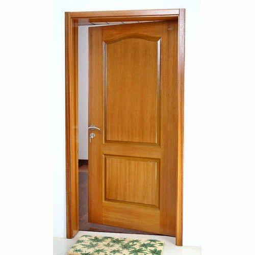 Teak Wood Entrance Door With Frame
