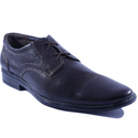 Formal Leather Lace Brown Shoe, Size: 7 And 9