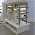 Stainless Steel Glass Display Rack